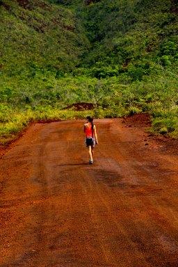 Départ pour le sentier Nothofagus (23km)